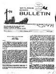 Wetlands Board Bulletin Vol. I, No. 1