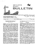 Wetlands Board Bulletin Vol. I, No. 3 by Virginia Institute of Marine Science