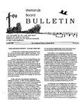 Wetlands Board Bulletin Vol. III, No. 2 by Virginia Institute of Marine Science