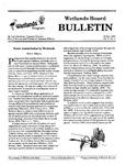 Wetlands Board Bulletin Vol. V, No. 1
