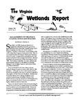 The Virginia Wetlands Report Vol. V, No. 3