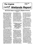 The Virginia Wetlands Report No. 93-8
