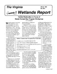 The Virginia Wetlands Report No. 94-2 by Virginia Institute of Marine Science