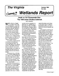 The Virginia Wetlands Report No. 94-6 by Virginia Institute of Marine Science