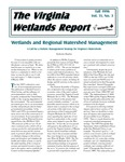 The Virginia Wetlands Report Vol. 11, No. 3 by Virginia Institute of Marine Science