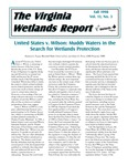 The Virginia Wetlands Report Vol. 13, No. 3 by Virginia Institute of Marine Science