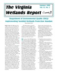 The Virginia Wetlands Report Vol. 15, No. 2 by Virginia Institute of Marine Science