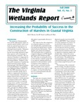 The Virginia Wetlands Report Vol. 15, No. 3 by Virginia Institute of Marine Science