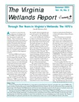 The Virginia Wetlands Report Vol. 16, No. 2 by Virginia Institute of Marine Science