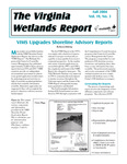 The Virginia Wetlands Report Vol. 19, No. 3