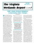 The Virginia Wetlands Report Vol. 20, No. 2 by Virginia Institute of Marine Science