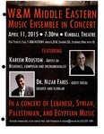 2014-2015 by Middle Eastern Music Ensemble'