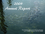 2009 Annual Report The Virginia Institute of Marine Science July 1, 2008 through June 30, 2009 by Virginia Institute of Marine Science