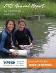2012 Annual Report July 1, 2011 through June 30, 2012 by Virginia Institute of Marine Science