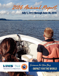 2014 Annual Report July 1, 2013 through June 30, 2014 by Virginia Institute of Marine Science