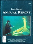 Virginia Institute of Marine Science Forty-Forth Annual Report by Virginia Institute of Marine Science