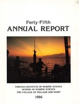 Virginia Institute of Marine Science Forty-Fifth Annual Report by Virginia Institute of Marine Science