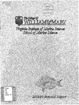 Virginia Institute of Marine Science 1988-90 Biennial Report by Virginia Institute of Marine Science