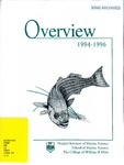 Overview 1994-1996 Virginia Institute of Marine Science by Virginia Institute of Marine Science