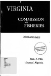 Fifty-Eighth and Fifty-Ninth Annual Reports of the Commission of Fisheries of Virginia