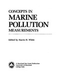 Meaningful Chemical Measurements in the Marine Environment - Transition Metals by James H. Carpenter and Robert J. Huggett