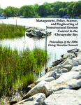 Landscape-Level Impacts of Shoreline Development on Chesapeake Bay Benthos and Their Predators by Rochelle D. Seitz and Amanda S. Lawless