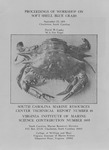 Proceedings of Workshop on Soft Shell Blue Crabs : September 22, 1979, Charleston, South Carolina