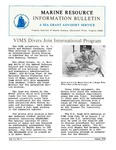 Marine Resource Information Bulletin, Vol. 6, No.5 by Virginia Sea Grant and Virginia Institute of Marine Science