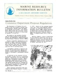 Marine Resource Information Bulletin Vol. 7, No. 3 by Virginia Sea Grant and Virginia Institute of Marine Science