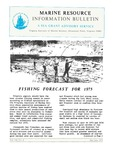 Marine Resource Information Bulletin Vol. 7, No. 4 by Virginia Sea Grant and Virginia Institute of Marine Science