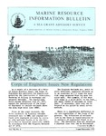 Marine Resource Information Bulletin Vol. 7, No. 6 by Virginia Sea Grant and Virginia Institute of Marine Science