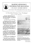 Marine Resource Information Bulletin May-June 1976 by Virginia Sea Grant and Virginia Institute of Marine Science
