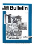 Marine Resource Bulletin Vol. 18, No. 1 by Virginia Sea Grant and Virginia Institute of Marine Science