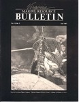 Marine Resource Bulletin Vol. 19, No. 3 by Virginia Sea Grant and Virginia Institute of Marine Science