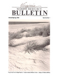 Marine Resource Bulletin Vol. 22, No. 1