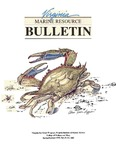 Marine Resource Bulletin Vol. 27, No. 1 & 2 by Virginia Sea Grant and Virginia Institute of Marine Science