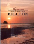 Marine Resource Bulletin Vol. 33, No. 3 by Virginia Sea Grant and Virginia Institute of Marine Science