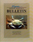 Marine Resource Bulletin Vol. 34, No. 2 by Virginia Sea Grant and Virginia Institute of Marine Science