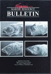 Marine Resource Bulletin Vol. 39, No. 3 by Virginia Sea Grant and Virginia Institute of Marine Science